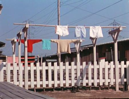 Good Morning Trocknende Wäsche